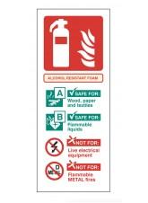Alcohol Resistant Foam Identification