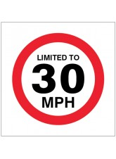 Limited to 30mph