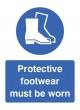 Protective Footwear Must be Worn