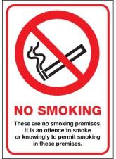 No Smoking Premises - (Scotland)