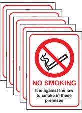 5xNo Smoking - (England and Northern Ireland)