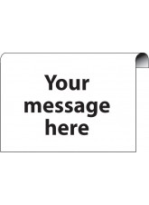 Design Your Own Roll Top Sign - 600 x 400mm