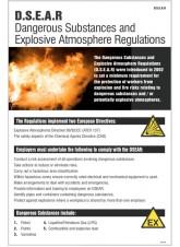 DSEAR Poster (Dangerous Substances & Explosive)